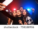 party  technology  nightlife... | Shutterstock . vector #758188906