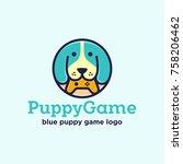puppy game logo design  dog...