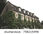 old hotel in england | Shutterstock . vector #758215498