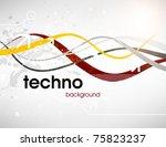 technology web background... | Shutterstock .eps vector #75823237