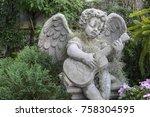 Beauty Cupid Statue Of Angel I...