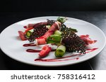 food photography creative... | Shutterstock . vector #758316412