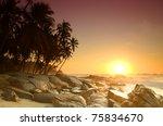 Beautiful Colorful Sunrise Ove...