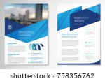 template vector design for... | Shutterstock .eps vector #758356762