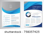 template vector design for... | Shutterstock .eps vector #758357425