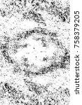 grunge black and white seamless ...   Shutterstock . vector #758379205