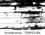 distressed halftone grunge... | Shutterstock .eps vector #758452186