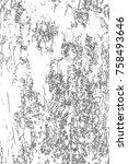 distressed halftone grunge... | Shutterstock .eps vector #758493646