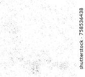 grunge black and white seamless ... | Shutterstock . vector #758536438