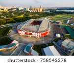moscow  russia   august 20 ... | Shutterstock . vector #758543278