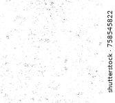 grunge black and white seamless ...   Shutterstock . vector #758545822