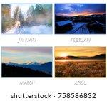Calendar Template Design For...