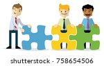 ready to use website... | Shutterstock .eps vector #758654506