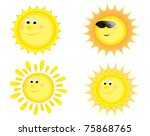 sun collection | Shutterstock . vector #75868765