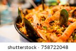Portuguese Seafood Paella With...