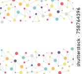 modern vector colorful... | Shutterstock .eps vector #758764396