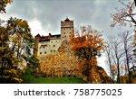 the bran castle | Shutterstock . vector #758775025