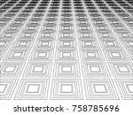 abstrac geometric background | Shutterstock .eps vector #758785696