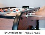 soccer table mini game | Shutterstock . vector #758787688