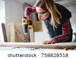 Young Woman Worker In The...