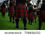 Pipe Band Scottish Kilts