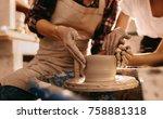 Woman Potter Teaching The Art...