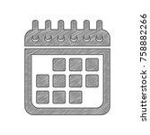 arrow sign illustration. vector....   Shutterstock .eps vector #758882266