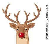 cartoon christmas illustration. ...   Shutterstock .eps vector #758893276
