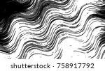 black and white horizontal... | Shutterstock . vector #758917792