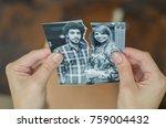 great concept of divorce ... | Shutterstock . vector #759004432