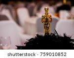 fancy award trophy   Shutterstock . vector #759010852
