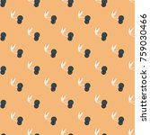 cute cherry seamless pattern.... | Shutterstock .eps vector #759030466