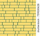 seamless texture of a brick... | Shutterstock .eps vector #759030628