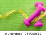 healthy lifestyle  fitness and... | Shutterstock . vector #759060592