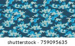 mega batik indonesia pattern... | Shutterstock .eps vector #759095635