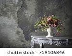 flower arrangement display    Shutterstock . vector #759106846