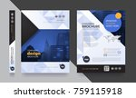 poster flyer pamphlet brochure... | Shutterstock .eps vector #759115918