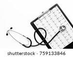 to diagnose heart disease.... | Shutterstock . vector #759133846