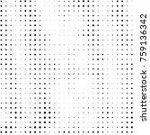 abstract grunge grid polka dot...   Shutterstock . vector #759136342