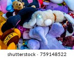 second hand toys in the market... | Shutterstock . vector #759148522
