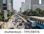 jakarta  indonesia   october 13 ... | Shutterstock . vector #759158476