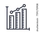 business graph icon | Shutterstock .eps vector #759170908