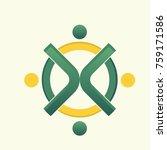 health logo vector | Shutterstock .eps vector #759171586