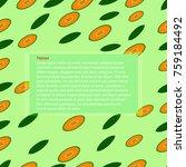 background  papaya fruit | Shutterstock .eps vector #759184492