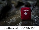 first aid  kit | Shutterstock . vector #759187462