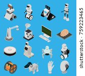 smart technologies devices... | Shutterstock .eps vector #759223465
