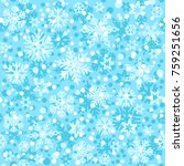 christmas seamless pattern with ... | Shutterstock .eps vector #759251656