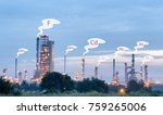 the industrial with chemical... | Shutterstock . vector #759265006