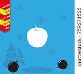 apple vector icon. | Shutterstock .eps vector #759271525