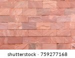 Red brick texture background  wallpaper. Building and interior concept - stock photo